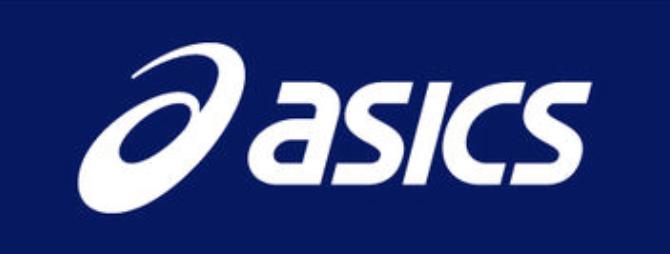 ロゴ:アシックス